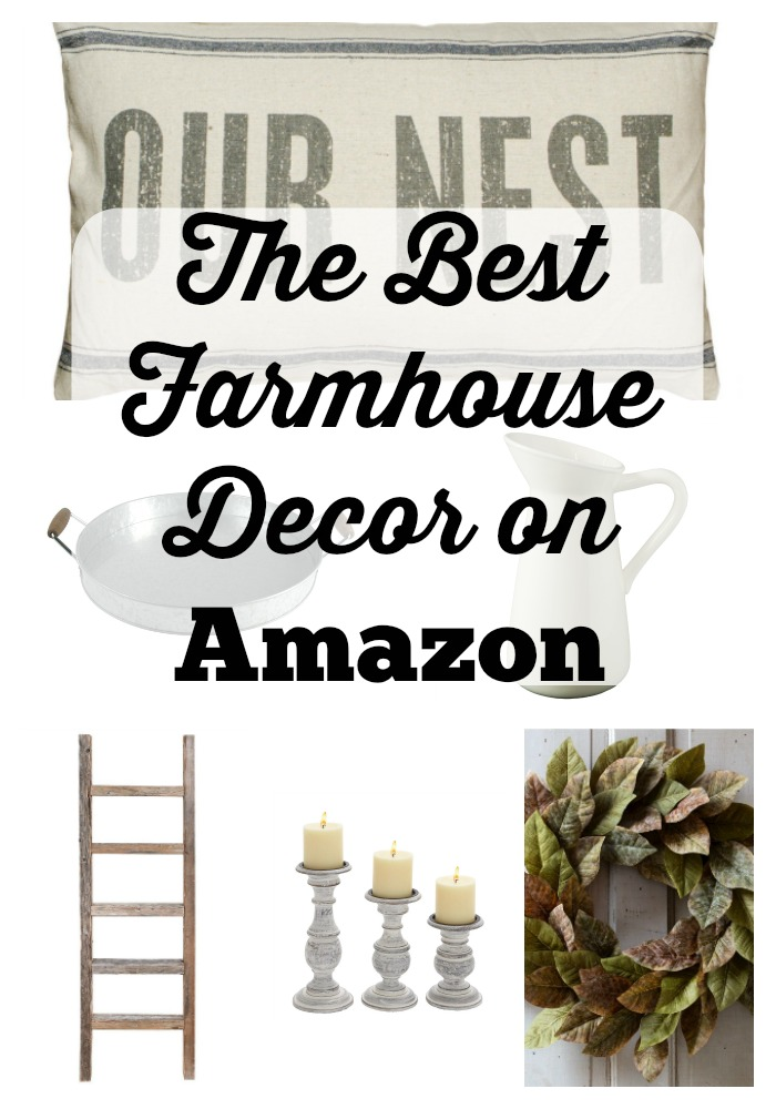 Best Farmhouse Decor On Amazon!