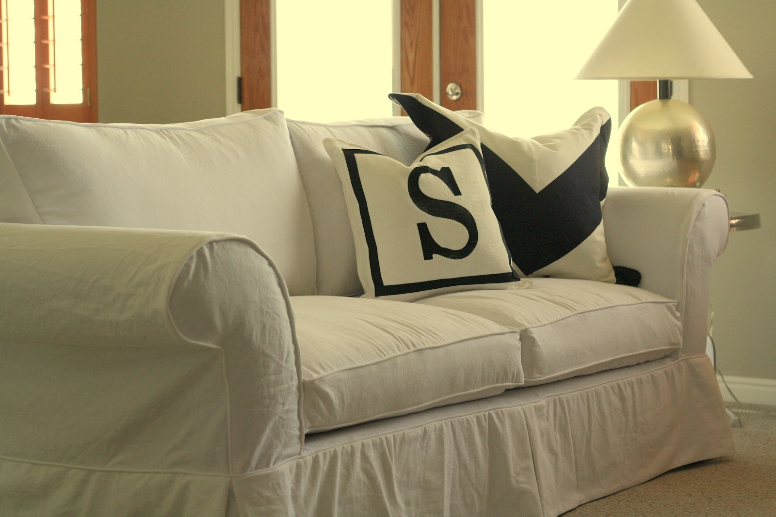 Twill Slipcovers For Sofas Baldwin Sofa From Ballard