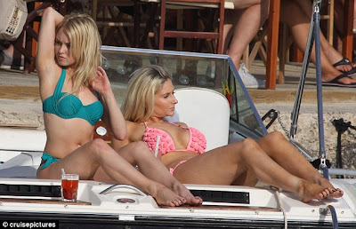 Gemma Merna and Jorgie Porter show off their sexy body curves