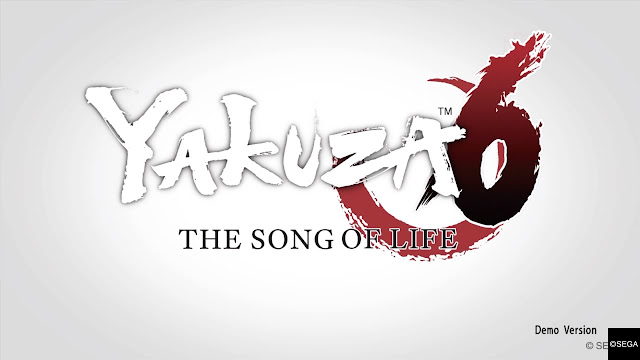Yakuza 6: The Song of Life Demo.