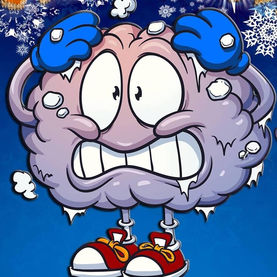 Brain Freeze! - Ice Cream - T-Shirt | TeePublic
