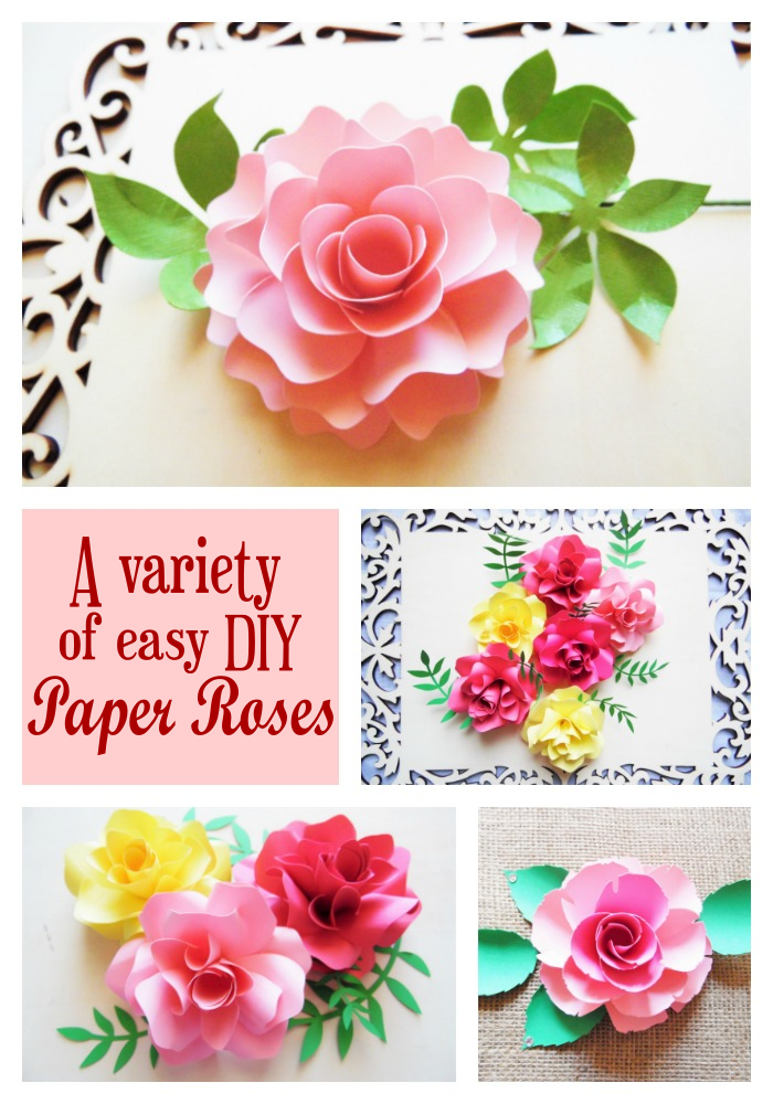 Giant Paper Flowers-How to Make Paper Garden Roses with Step by ... | 1000x700