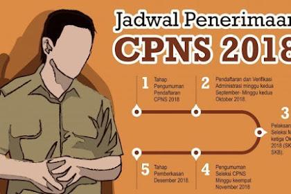 Seleksi CPNS 2018 dibuka, cek ini informasi Jadwalnya!!!