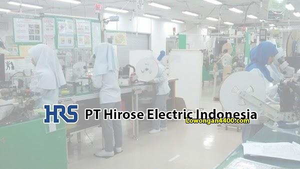 Lowongan Kerja PT. Hirose Electric Indonesia Cikarang