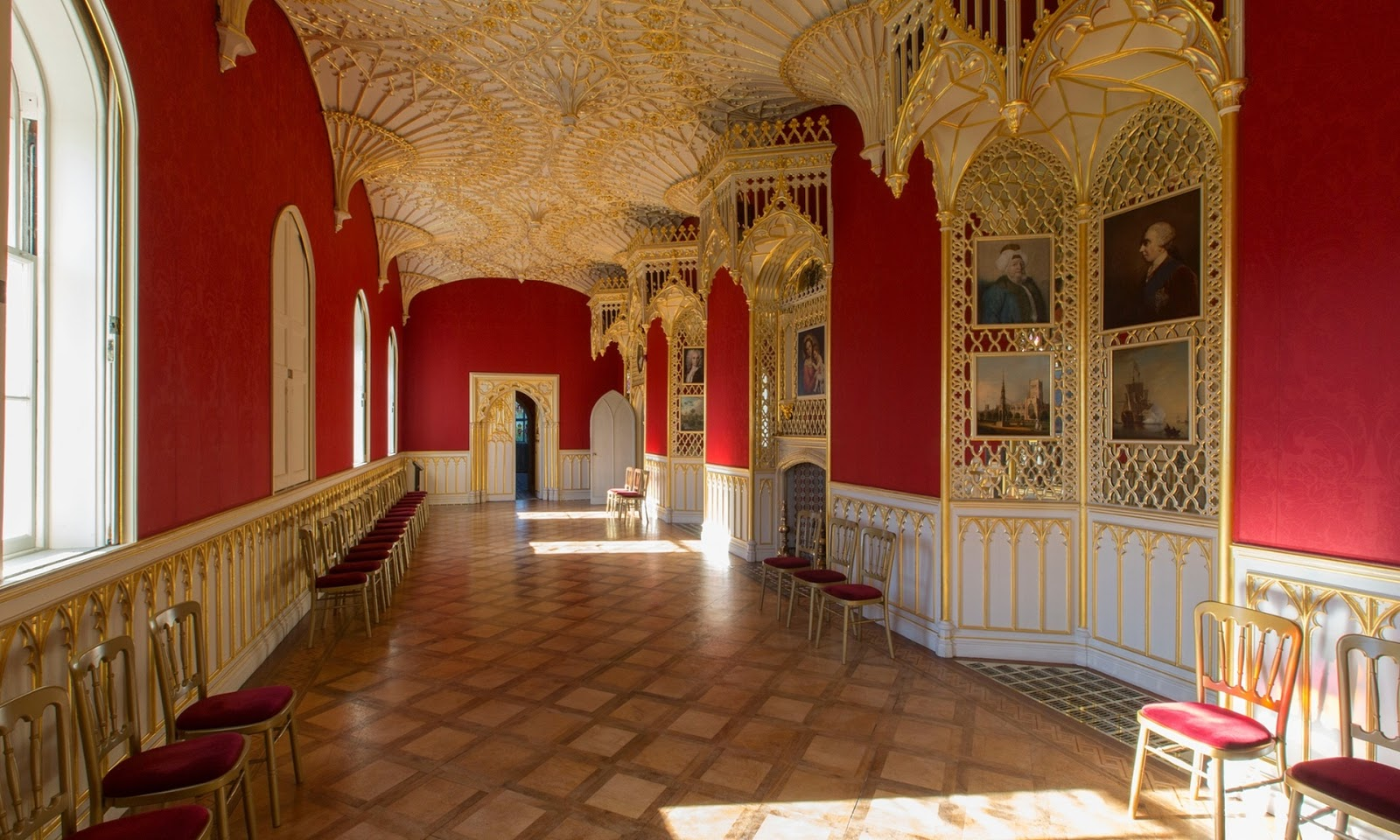 The Gothic Revival Room Introducing Strawberry Hill