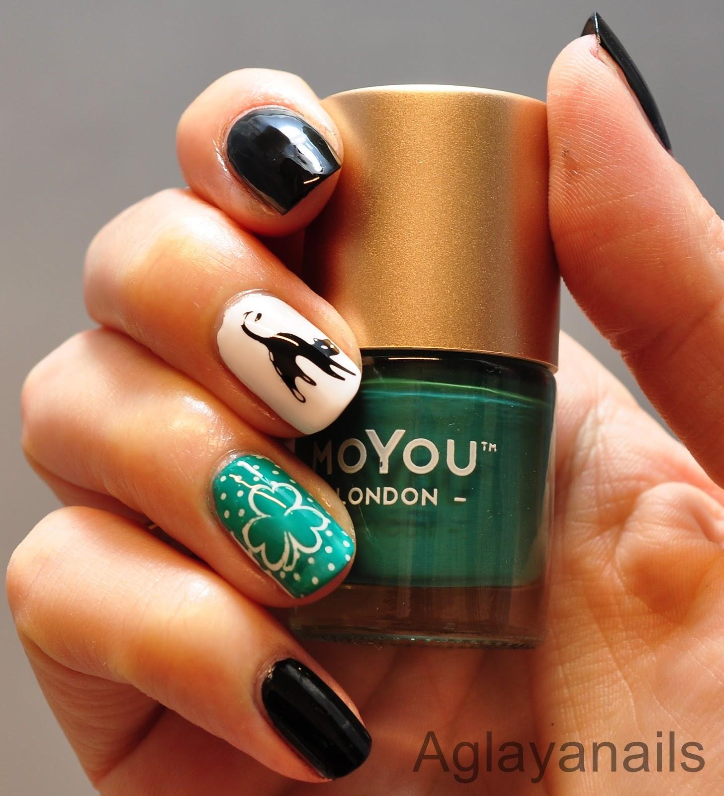 Aglayanails: 26 Great Nail Art Ideas: Friday the 13th
