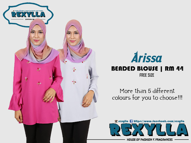 rexylla, beaded blouse, arissa collection