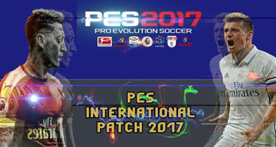Patch PES 2017 Terbaru dari PES International Patch V0.1