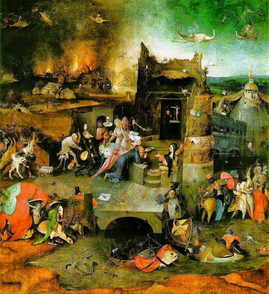 panel central del trptico hyeronimus bosch