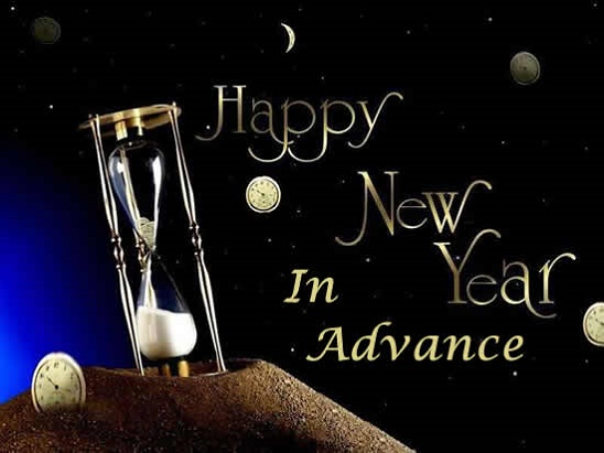 Advance Happy New Year Wishes