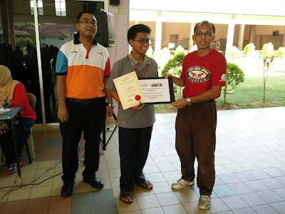 Tempat ke 3 Kategori Lelaki Kejohanan Catur Rapid Terbuka PSIS