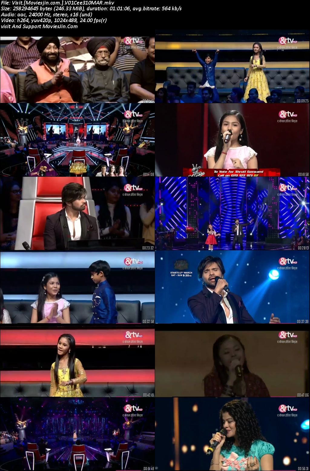 Voice India Kids S02 10th March 2018 Hd 250MB 480p TvRip