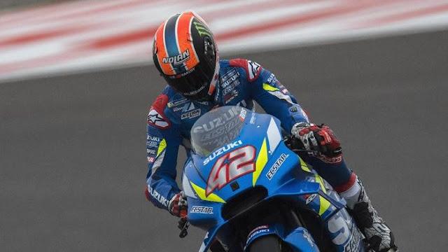 Kalahkan Rossi, Kemenangan Pertama Alex Rins Jadi Tambah Berkesan