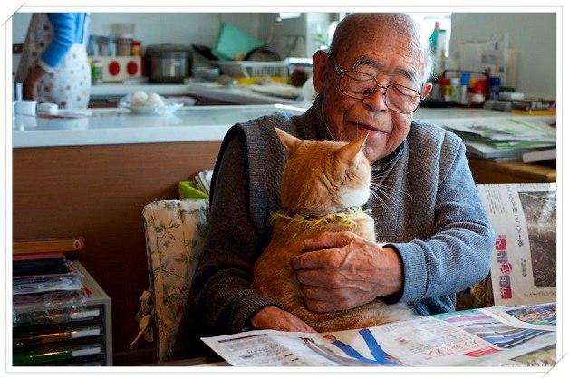 Neta oferece seu tímido gatinho para o avô doente e transforma a vida de ambos!