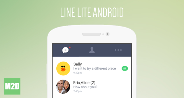 LINE Lite. Aplikasi LINE Ringan untuk Android