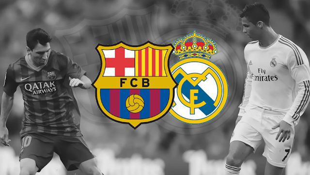 نتيجة مباراة برشلونة وريال مدريد اليوم 3-12-2016 والقنوات الناقلة لمباراة الكلاسيكو
