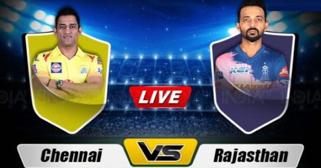 VIVO IPL 2019 Match 25 RR vs CSK Live Score