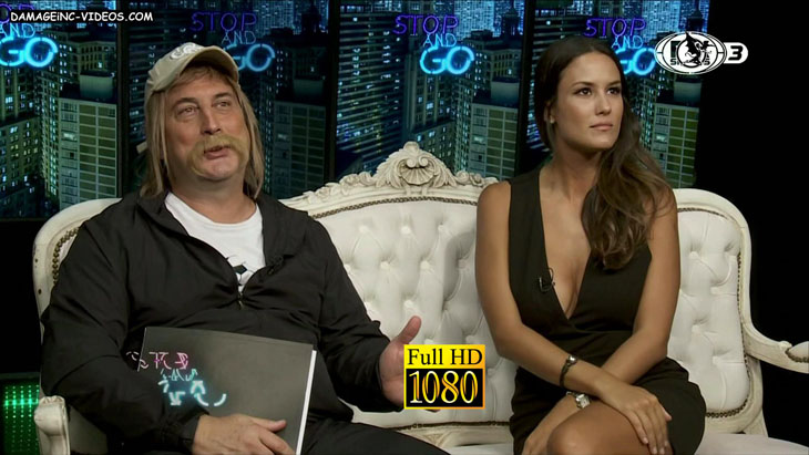 Luli Fernandez busty cleavage damageinc videos HD