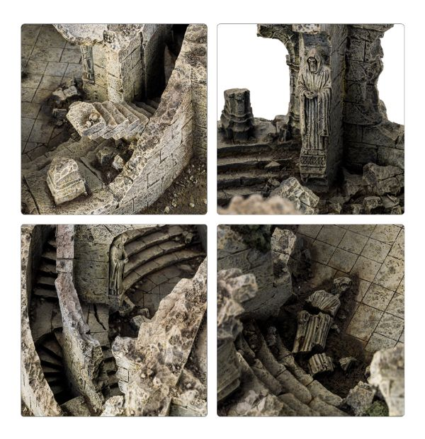 Forge World The Hobbit - The Lord of The Rings Ruined Watchtower of Amon Sûl Weathertop Scenery