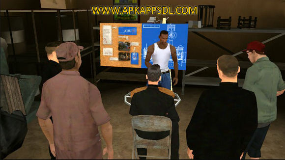 Grand Theft Auto: San Andreas Apk + Data v1.08 Android Full Latest Version 2017 Free Download