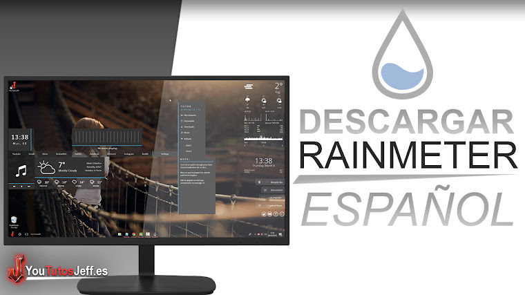 Como Descargar Rainmeter 4 Ultima Version 2018 Español - Personalizar Windows al Maximo