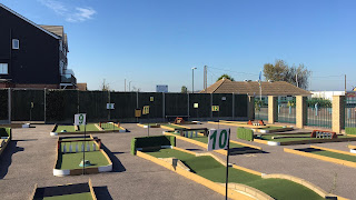 Crazy Golf in Leysdown-on-Sea, Isle of Sheppey. Photo by Simon Martin, October 2018