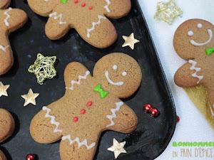 Biscuits bonhommes en pain d'épices
