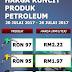 Harga Minyak Petrol Diesel Mingguan 20 Julai Hingga 26 Julai 2017