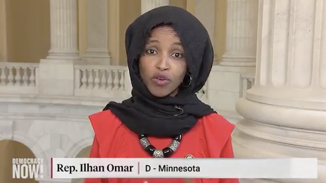 Ilhan Omar Aligned with Russia and Cuba Blames U.S. For Situation In Venezuela (Video)