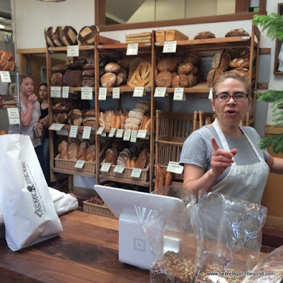 order counter at Acme Bread Company in Berkeley, California