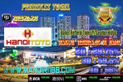 AGEN TOGEL | Prediksi Togel Hari Ini Hanoitoto Tanggal 09 July 2017 Minggu