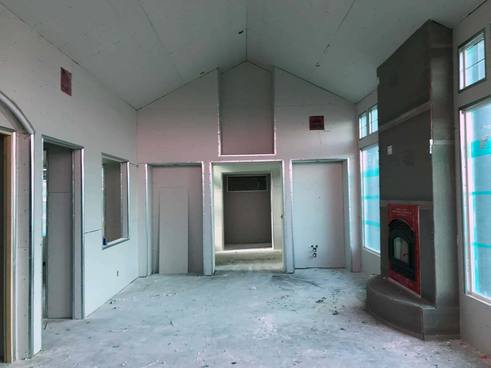 Construction Update: Drywall