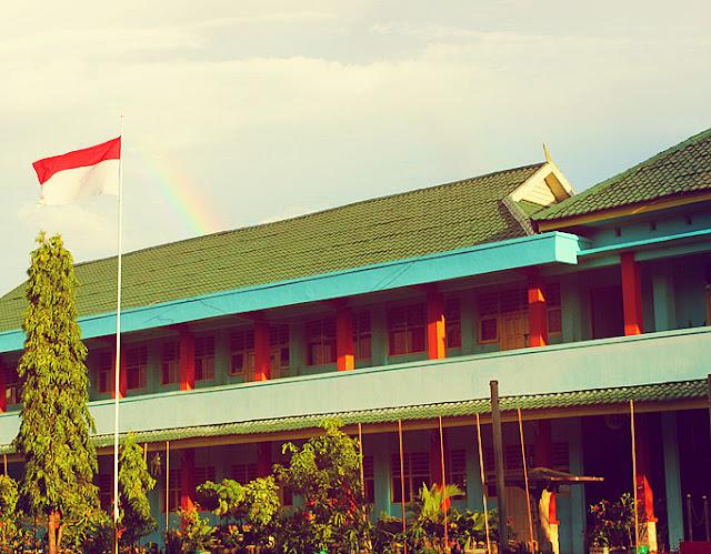 Sunset SMA Negeri 1 Pinrang