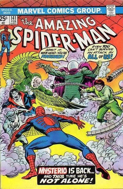 Amazing Spider-Man #141, Mysterio