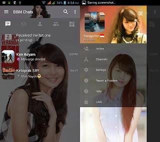 BBM Mod Veranda JKT48 v3.0.1.25 Apk Terbaru