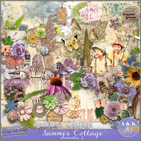 Summer Cottage Elements1