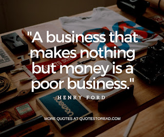 Collection of business quotes by business tycoons!