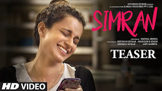 Simran – Official HD Trailer of Simran – Kangana Ranaut