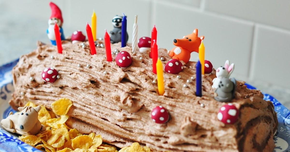 Log Cake Recipe Joy Of Baking: Consider The Thought: Bûche De Noël Yule Log Cake
