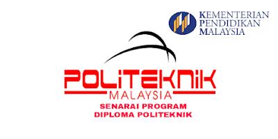 Senarai Program Diploma Politeknik Seluruh Malaysia