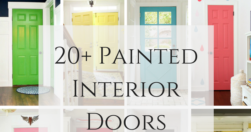 22 Gorgeous Interior Door Paint Colors That Aren T White Postcards From The Ridge
