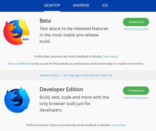 موزيلا فايرفوكس تطلق إصدار جديد وسريع بمزايا رهيبة Firefox Quantum 2018
