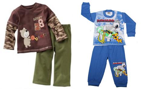 model baju tidur anak laki laki