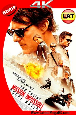 Misión Imposible 5: Nación Secreta (2015) Latino Ultra HD 4K 2160P ()