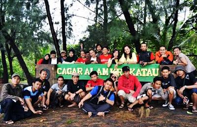 cagar alam krakatau