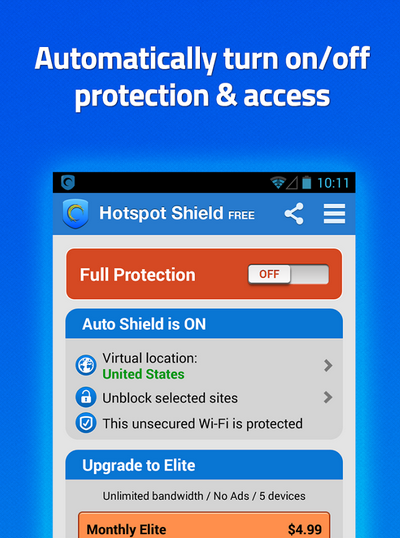Hotspot Shield VPN For Unblock 2