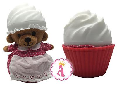 Медвежонок в кексе 2 в 1 игрушки сюрпризы