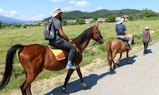 Look at me pretending I'm a horseman