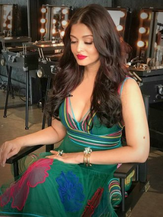 Aishwarya Rai Spicy Photos at Cannes 2017