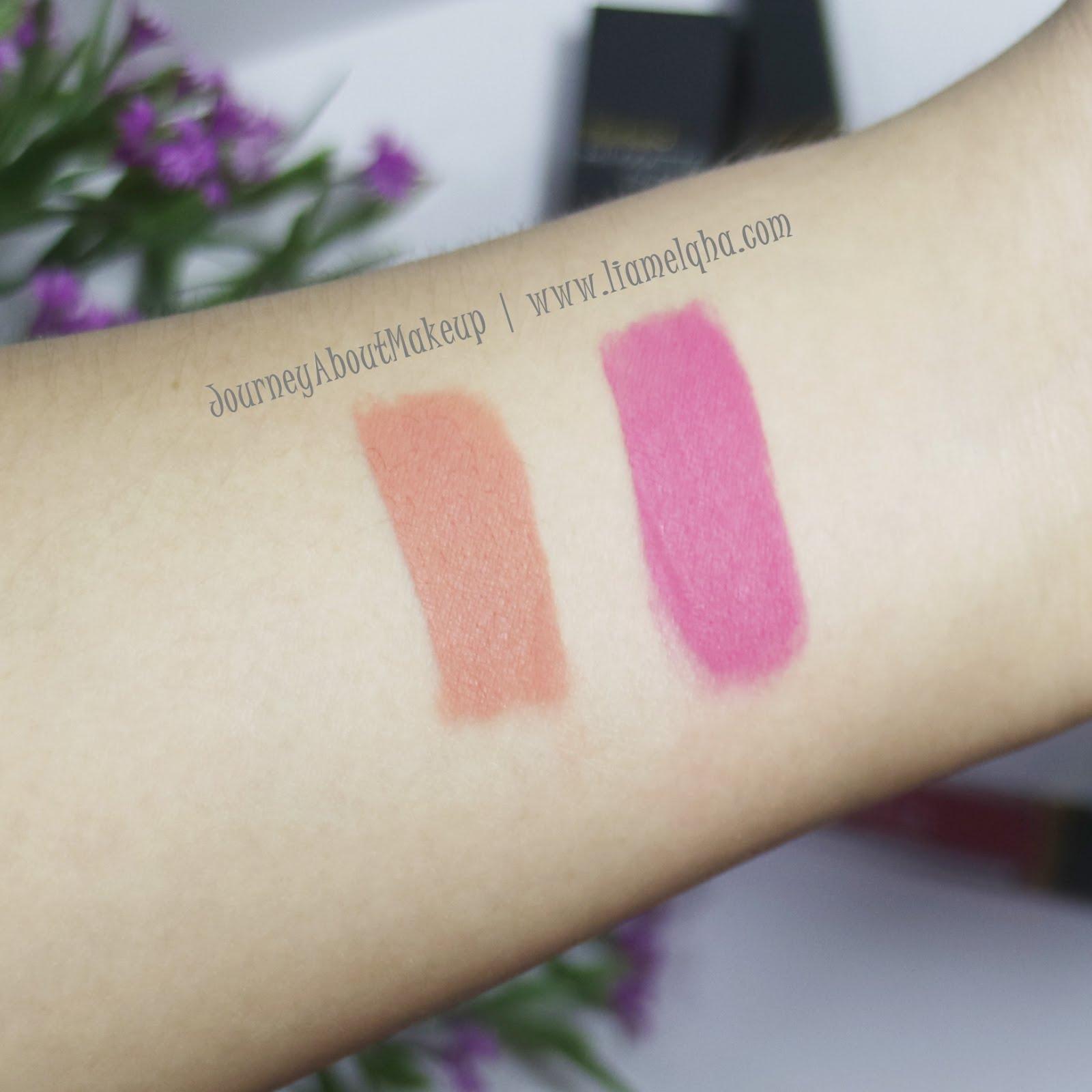 Review Purbasari Hi Matte Lip Cream Hydra Series 01 Vinca Dan 04 Lipstick Kiri Kanan Zinnia